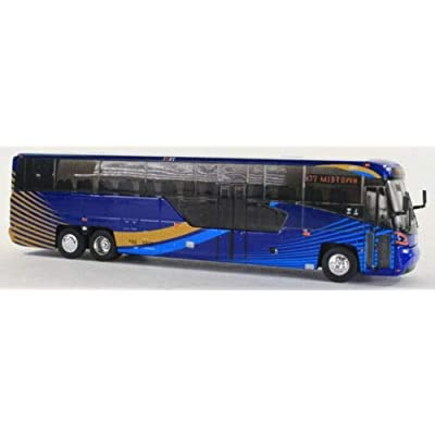 Iconic Replicas MTA NYC Transit Bus 1:87 Scale-HO Scale MCI D45 CRT LE New in Box!: Toys & Games