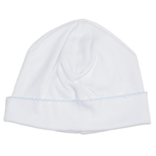 Kissy Kissy - Basic Hat - White Blue-SM
