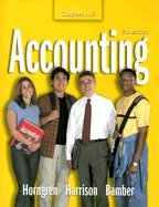 Accounting (Chapters 1-13 (6th, 05) by Horngren, Charles T - Harrison, Walter T - Bamber, Linda Smi [Paperback (2003)] ebook