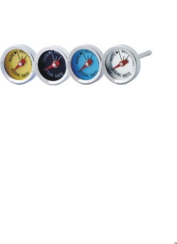 MAN LAW Steak Thermometer Stainless