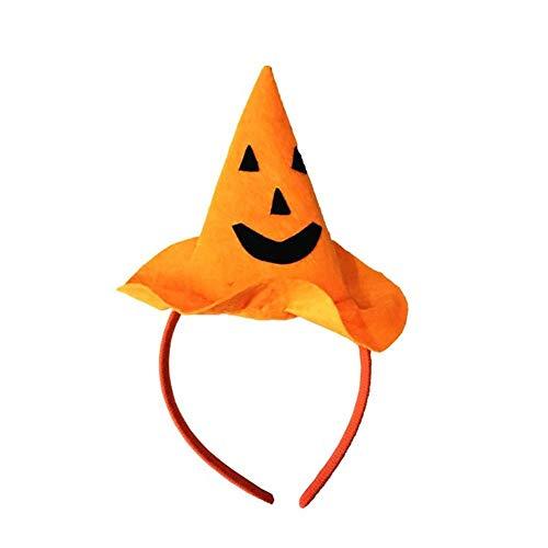 Party DIY Decorations - 1pc Halloween Party Pumpkin Hat Hairband Headband Masquerade Fancy Costume Headwear - Party Decorations Party Decorations Dress Witch Green Heart Halloween Pumpkin -