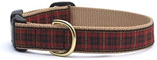 product image for 'Up Country–NRP C XL New Red Plaid Dog Collar, Wide 1, XL