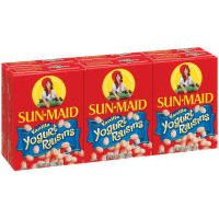 Sun Maid Yogurt Raisins, Vanilla, 6 oz (Pack of 18)