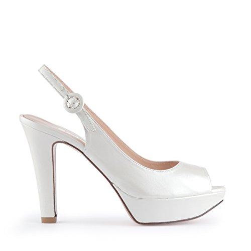 Lodi Novia Hilaria 16489 - Zapato de novia de tacón alto