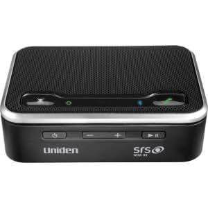 Uniden BTS200 2.0 Speaker System - 4 W RMS - Wireless Speaker(s) - Black (BTS200) -
