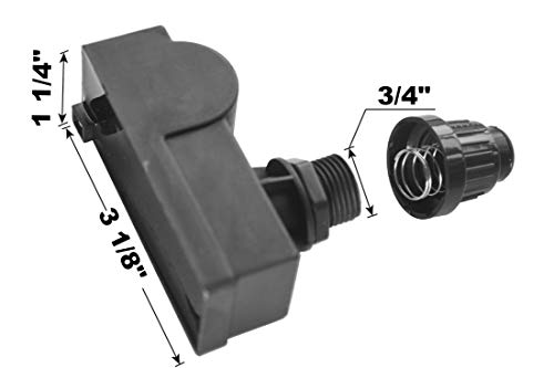 Grillkid SG01 Spark Generator Replacement for Select Gas Grill Models by Broil-Mate, Sterling and Others, 1 Male Spade Connector Outlets