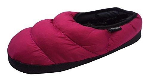 Sushixm Donna Uomo Premium Super Soft Confortevole Coperta Casa Esterna Inverno Pantofole In Cotone Sandalo Rosa Rossa