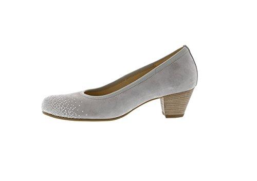 Gabor - Zapatos de vestir para mujer gris light grey(Strass) *