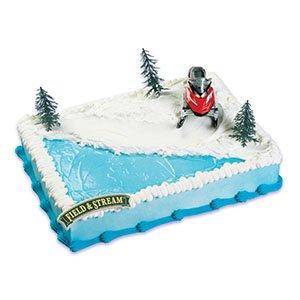 snowmobile-cake-topper-decorating-kit