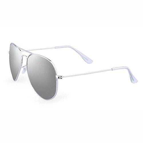 Clásico UV400 Color Verano Manejar De 6 Retro Metal Neutral 1 Sol Gafas Gafas ZX gPztqIz