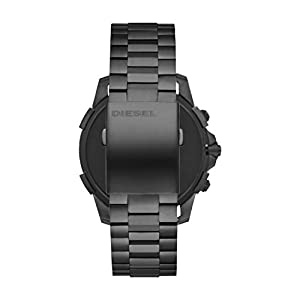 Diesel On Men's Full Guard 2.5 Smartwatch Powered with Wear OS by Google with Heart Rate, GPS, NFC, and Smartphone Notifications