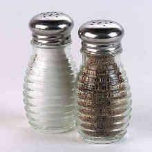 A Legacy Stainless Steel Shaker (Bee Hive Salt & Pepper Shaker 2oz. (2))