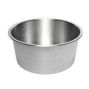 Pentalux - Molde Cilíndrico extra alto de aluminio - molde para tartas, pastelería: Amazon.es: Hogar