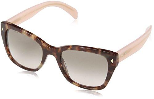 Prada 09S UE0-4K0 Spotted Brown Pink 09S Wayfarer Sunglasses Lens Category - $20 Sunglasses 2 For