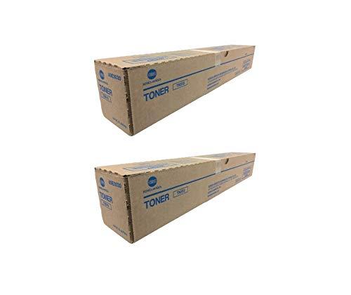 TN515 A9E8030 Genuine Konica Minolta Toner Cartridge 2 Pack, 24000 Page-Yield Per Ctg, Black