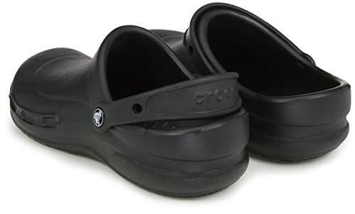 Crocs, Inc. Mens Bistro Clog Black 12 M