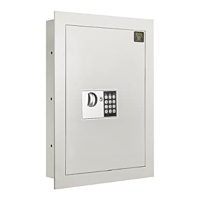 Flat Electronic Wall Hidden Safe .83 CF for Large Jewelry Security-Paragon Lock & Safe