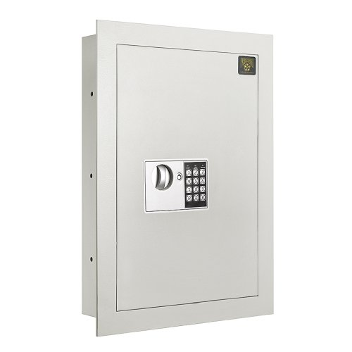 7700 Flat Electronic Wall Safe .83 CF for Large Jewelry Security-Paragon Lock & Safe ()