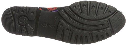 Comfort Derby C Schw Mujer Negro para Shoes multicss Sport Gabor 56nAZPw