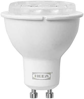 Ikea Bombilla LED GU10 400 lúmenes, regulable inalámbrico, espectro blanco