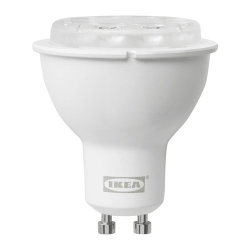 Ikea LED bulb GU10 400 lumen, wireless dimmable, white spectrum - - Amazon.com
