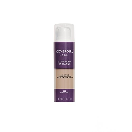 COVERGIRL Advanced Radiance Age-Defying Foundation Makeup, Classic Beige, 1 oz (Packaging May (Good Skin Spf 15 Foundation)
