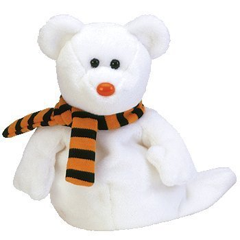 Ty Beanie Babies Quivers - Ghost Bear ()