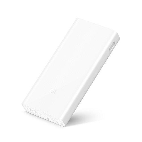Xiaomi Mi Powerbank 20.000 mAh, elegante diseño minimalista