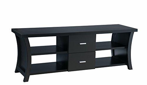 247SHOPATHOME IDI-14970 Television-Stands, Black