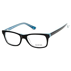 Guess Women's Eyeglasses GU2518 GU/2518 005 Black Full Rim Optical Frame 50mm