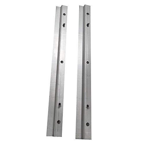 Genesis Grill Bottom Drip Tray Rails 88203 and Hardware for Weber Genesis Gold Sliver Spirit ()
