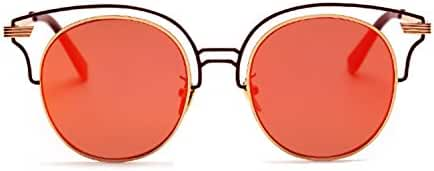 Retro Round Circle Colored Vintage Tint Sunglasses Metal Frame Spring hinge OWL