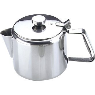 Tea Server Stainless 20 Oz Capacity: 20oz. Stainless Steel by Nextday Catering Equipment Supplies UK