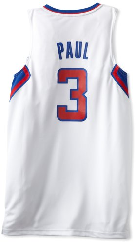 NBA Los Angeles Clippers White Swingman Jersey Chris Paul #3, Small