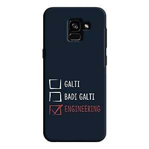 Cover It Up - Galti Grades Galaxy A8 Plus Hard Case