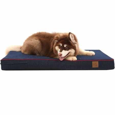 LaiFug - cama ortopédica para mascota/perro de espuma viscoelástica, forro impermeable durable y funda extraíble lavable de diseño especial: Amazon.es: ...