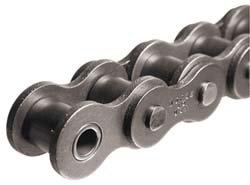 "Morse 120R 10FT Standard Roller Chain, ANSI 120H, Riveted, 1 Strand, Steel, 1-1/2"" Pitch, 0.875"" Roller Diamter, 1"" Roller Width, 34000lbs Average Tensile Strength, 10ft Length"