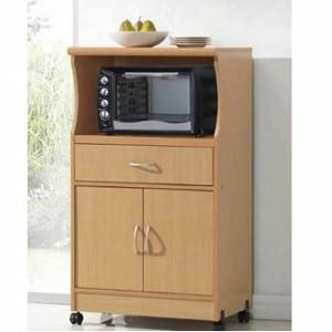 hodedah microwave stand