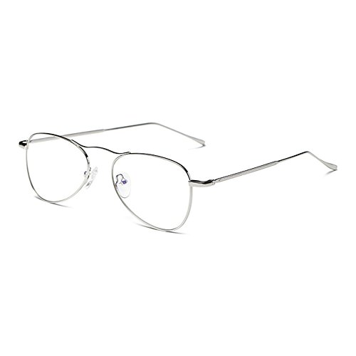 2e2e0d377d hot sale 2017 Gafas Anti Luz Azul - Marco de Metal Transparentes Lentes  Anteojos para Computadora