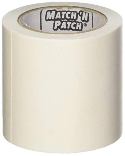 Match N Patch - Cinta de reparación, imitación de cuero realista, de color blanco Fortis Design Inc.