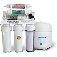 PurePro 6 stage Reverse Osmosis Water Purification System With Infra-Red Filter & Pump, 50 Gallons Per Day