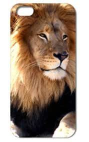 Fashion The Lion Pattern Protective Hard For Case For Htc One M9 Cover #078