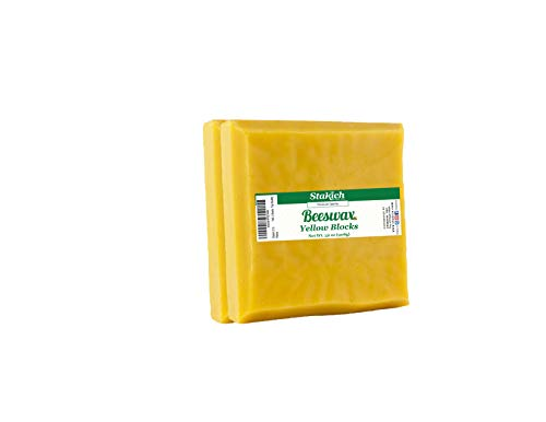 Stakich Yellow Beeswax Blocks