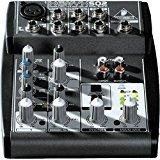 BEHRINGER Premium 5-Input 2-Bus Mixer W/xenyx Mic Preamp & British Eq