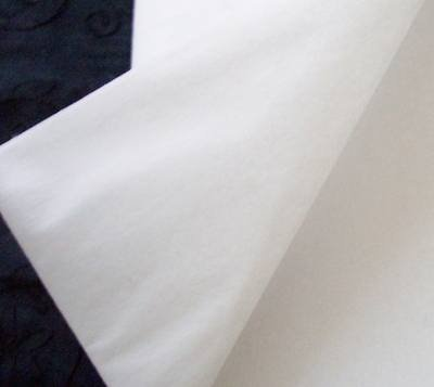 Medium weight iron on fabric interfacing interlining pack 90cm x 3 meters white