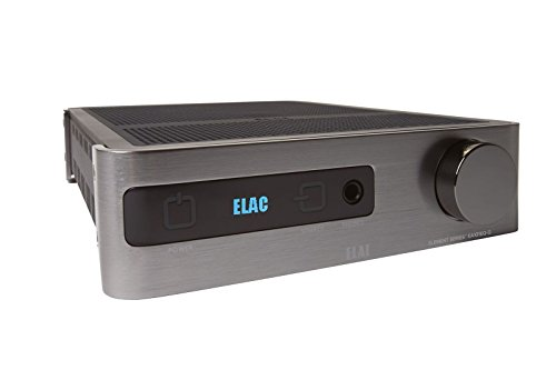 ELAC EA Series Integrated Amplifier, Silver (EA101EQ-G) by Elac