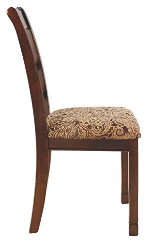 home, kitchen, furniture, kitchen, dining room furniture,  chairs 11 discount Ashley Furniture Signature Design - Leahlyn Dining Upholstered Side in USA