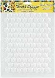 Candy Hexagon (Lorann Hexagon Break Up Candy Sheet Mold, (6-Pack))