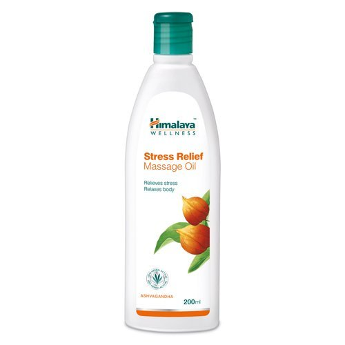 Himalaya Herbals Stress Relief Massage Oil, 200ml