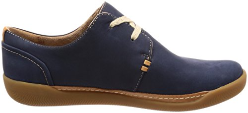 ... Clarks Un Haven Lace 261328964 Damen Halbschuhe Blau(Navy)
